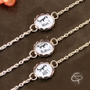 Bracelets au choix cadeaux originaux personnalisés fin d'année scolaire maîtresse avs atsem