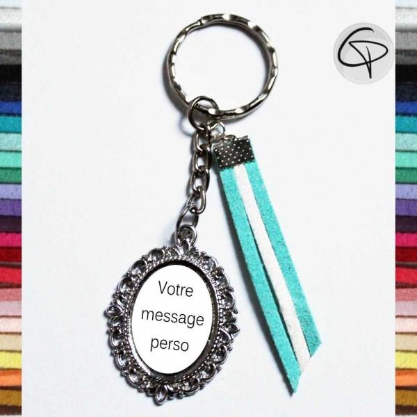 Porte-clé personnalisable - Cadeau original et unique