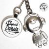 Porte-clef décapsuleur Super Parrain porte-clé personnalisé cadeau original parrain