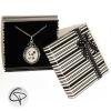 Collier pendentif dessin de panda dans une belle boîte cadeau