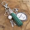 Cadeau original et personnalisé marraine porte-clé pour sac à main