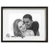 Portrait crayon couple amoureux à partir d'une photographie cadeau original et personnalisé mis sous cadre encadré blanc