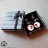 Porte-clé un cœur pour deux personnalisé boîte cadeau
