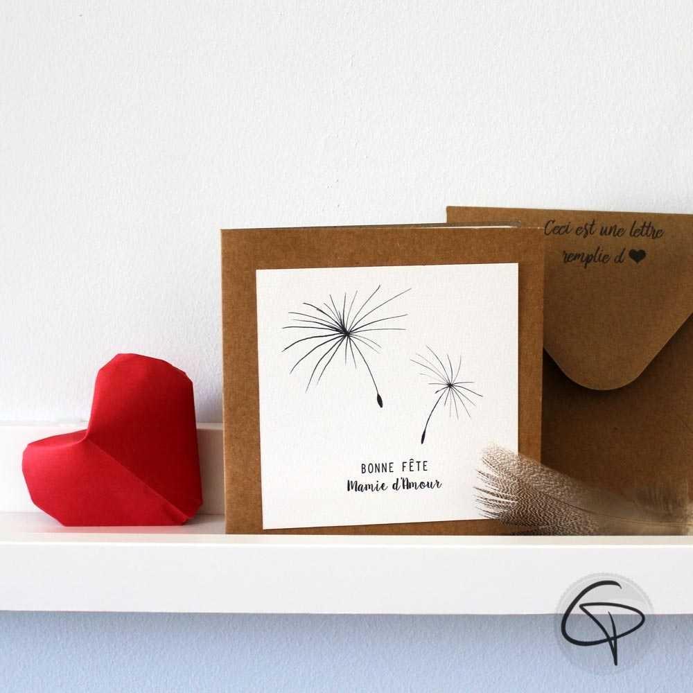 carte de v ux personnaliser mamie f te des grands m res. Black Bedroom Furniture Sets. Home Design Ideas