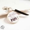 Porte-clé annonce original grossesse papa bientôt papi papy