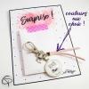 Porte-clé annonce bientôt mamie porte-clef personnalisé cadeau grand-mère annonce originale de grossesse