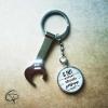 porte-clé décapsuleur si papi ne peut pas le réparer personne ne peut cadeau original personnalisé grand-père