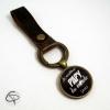 porte-clef bronze personnalisé meilleur papy du monde cadeau original grand-père
