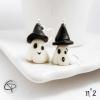 boucles petits fantôme original phosphorescent pendants d'oreilles femme pour halloween