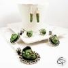 bijoux originauw femme halloween zombies monstres verts