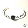 bracelet chat noir médaillon fin bijou femme romantique