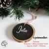 décoration sapin Noël à personnaliser prénom enfant