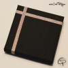 boîte cadeau carrée pour bijoux au joli ruban rose poudré