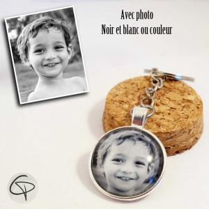 photo d'un enfant en porte-clé un cadeau original