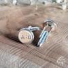 bouton attache décorative mariage personnalisable initiales