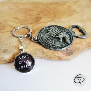 porte-clé décapsuleur winter is coming game of thrones