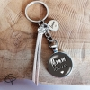 porte-clef cadeau original fète des mère maman louve