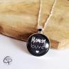collier maman louve un bijou en cadeau original fête mères