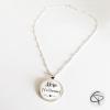 collier avec pendentif mère veilleuse cadeau maman