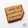 biscuit aimanté merci de m'avoir aidé à grandir magnet fait main