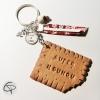 Porte-clef biscuit sper nounou personnalisable prénom enfant