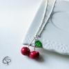 collier cerises bijou fille 10 12 ans création française
