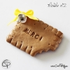 façon original dire merci pour cadeau naissance avec biscuit fait main