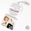 faire-part de naissance en papier avec photo personnalisable pour fille