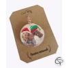 boule de Noël unique au monde avec la photo de votre famille