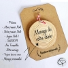 personnalisez la décoration de Noël avec votre texte sur bois