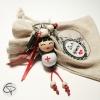 porte-clef poupée super infirmière cadeau original super infirmière