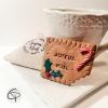 gâteau Lu personnalisé cadeau original pour invités au réveillon de Noël
