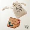 biscuit Joyeux Noël avec pochon pour offrir en cadeau original