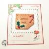 gâteau Lu croqué Joyeux Noël avec aimant à offrir de la part de