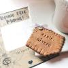 magnet biscuit avec inscription mamie gâteau cadeau original fête des grands-mères