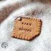 biscuit Lu modelé main pour la fête des grands-mères gravé mamie gâteau
