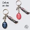 Porte-clefs bonne fête mamie couleurs de médaillons au choix