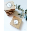 Jolies boîtes à bijoux avec des fleurs faites main par Chat Pristy