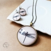 Sautoir libellule bijou original raffiné pour femme