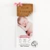 Annonce-de naissance original et personnalisable pour la venue d'une fille