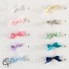 Coloris des noeuds à choisir avec le faire-part naissance mixte