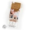 Faire-part de naissance mixte personnalisable format marque-page