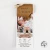 Faire-part de naissance biscuit bébé à croquer couleurs mixtes