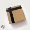 Boîte cadeau kraft pour porte-clé décapsuleur