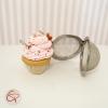 Boule à thé originale contrepoids décoratif infuseur à thé cupcake cœur biscuit