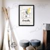 Illustration de créateur ours personnalisable décoration chambre enfant
