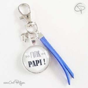 Création originale faite main pour annoncer à son père qu'il sera grand-père