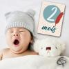 Cartes originales sur le thème renard pour garder un souvenir de votre bébé garçon
