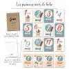 16 cartes étaoes renard originales à mettre sur la liste de naissance pour faire plaisir aux parents