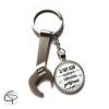 Porte-clé personnalisable avec prénom du papi bricoleur